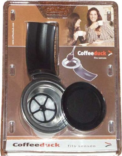 Coffeeduck Classic: Permanent Refillable Coffee Filter for the Senseo models HD7810-HD7812