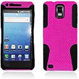 Apex Hybrid Case for Samsung© Infuse 4G i997, Black & Hot Pink