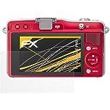3 x atFoliX Film protection d'écran Olympus E-PM2 Film protecteur Protecteur d'écran - FX-Antireflex anti-reflet