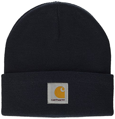 carhartt-short-watch-hat-chapeau-fedora-mixte-bleu-navy-taille-unique-taille-fabricant-taglia-unica