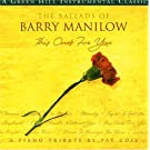 Ballads of Barry Manilow