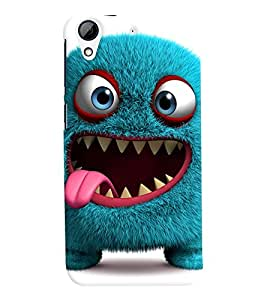 FurnishFantasy Designer Back Case Cover for HTC Desire 728, HTC Desire 728G