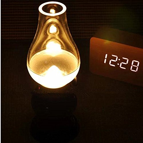 Time Sino Led Light Charging Blowing Control Creative Retro Table Lamp Atmosphere Nightlight Bedside Lamp,Outdoor Camping