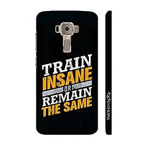 Enthopia Designer Hardshell Case Train Insane Back Cover for Asus Zenfone 3 ZE552KL