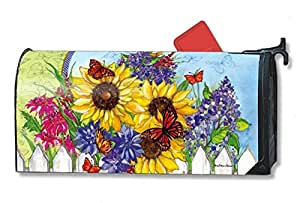 Amazon.com: Butterflies and Blossoms Large MailWraps Magnetic Mailbox