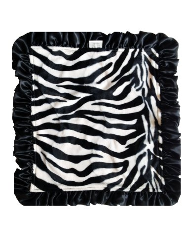 Patricia Ann Designs Satin Travel Silkie, Zebra - 1