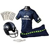 Franklin Sports NFL Seattle Seahawks Deluxe Youth Uniform Set,...