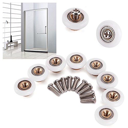 VIEWLINK Sliding Tub and Shower Door Replacement Rollers 3/4