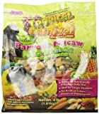 F.M. Browns Tropical Carnival Natural Parrot and Macaw Food, 4-Pound