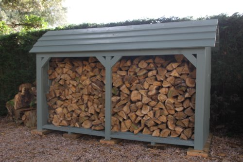 Wooden Log Store - By Touch Wood
