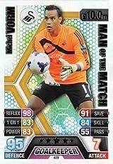 Match Attax 2013/2014 Michel Vorm Swansea 13/14 Man Of The Match