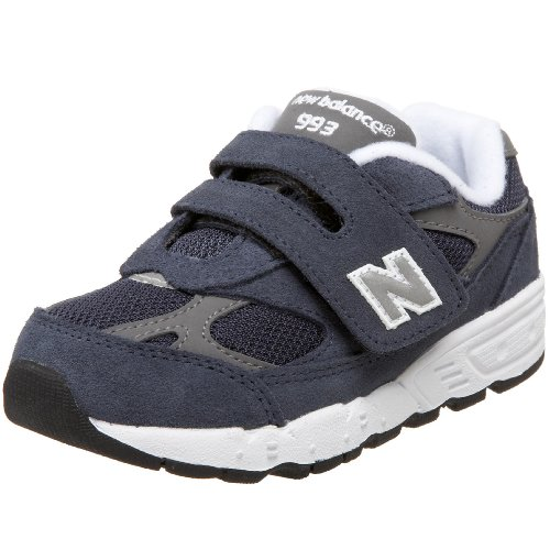 New Balance 993 H&L Running Shoe (Infant/Toddler),Navy-NV,6 M US Toddler
