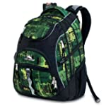 High Sierra Access Backpack, Green Pa...