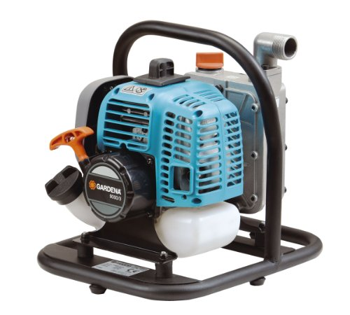 Compare Gardena 1436 2 Stroke Gas Powered Water Pump