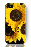 SPRAWL New Fashion Design Hard Skin Case Cover Shell for Mobile Phone Apple Iphone 5 5S--lovely sunflower pattern