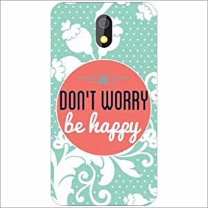 HTC Desire 326G dual sim Back Cover - Silicon Don'T Worry Designer Cases