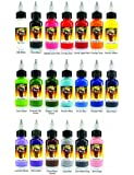 Scream Tattoo Ink 20-pack Set 1/2-oz Bottles -Tattoo Supplies-
