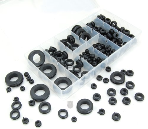 180-Piece Rubber Grommet Shop Assortment picture