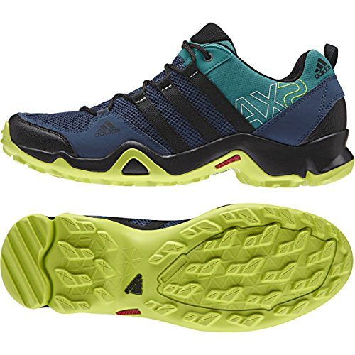 Adidas Sport Performance Men's AX 2 Sneakers, Blue Textile, Rubber, 9.5 M