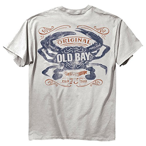 Old Bay Seasoning Water Color Crab T-Shirt (Large) (70 Year Old Tshirt compare prices)