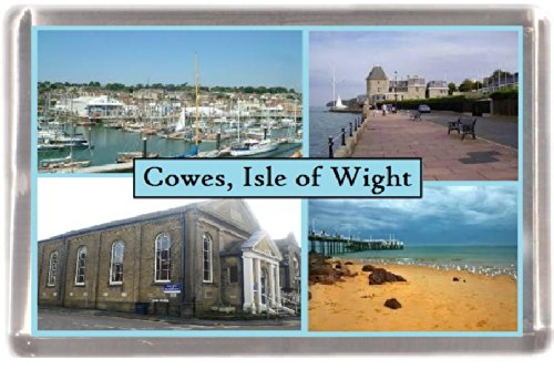 Kühlschrankmagnet Isle of Wight Cowes Geschenk Tourist Souvenir