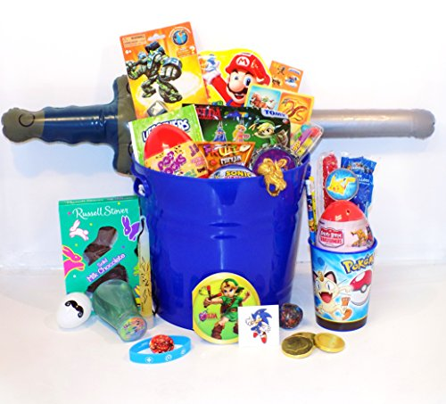 9 fun easter basket ideas for young geeks filled easter gift baskets for gamers and geeks negle Images