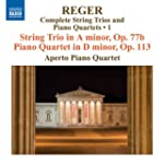 Reger: String Trio in A minor, Op. 77...
