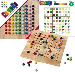 Colorku Solid Wood Colorku Game Set