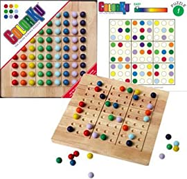 ColourKu Solid Wood Game
