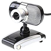 Generic USB 2.0 30.0M 3 LED PC Webcam With MIC For Computer