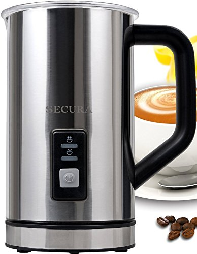 Secura Automatic Electric Milk Frother and Warmer 250ml FREE cleaning brush (Cuisinart Milk Frother compare prices)