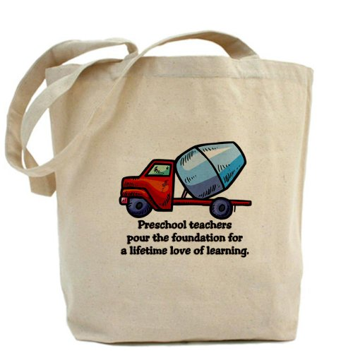 CafePress Preschool Teacher Gift Ideas Tote Bag - Standard