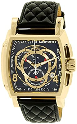 Invicta Men's 15796 S1 Rally Analog Display Swiss Quartz Black Watch