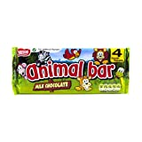 Nestle Chocolate Animal Bars 4 Pack 76g