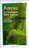 Le V�ritable Saint Genest par Rotrou