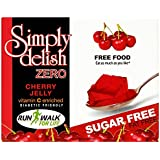Simply Delish Sugar Free Instant Cherry Jelly 8 g (Pack of 8)