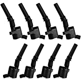 Set of 8 Ignition Coils on Plug Pack For Ford E-250 E-350 Super Duty DG508