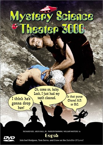 51RZ3SVZAZL Mystery Science Theater 3000: Eegah & The Brain That Wouldnt Die   Retrospective DVD Review