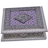 Chirag Enterprise Dry Fruit Box, Serving Tray, Decorative Platter, Beautiful Snack Box With Unique Meenakari Work From Chirag Enterprise - B073XQF3H8