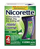 Nicorette Mini Lozenge (4 mg)  81-Count Package