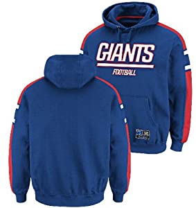 New York Giants Passing Game III Hooded Sweatshirt by Majestic by VF