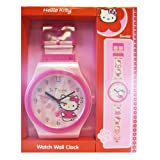 Sanrio Hello Kitty Large Wall Clock 36 Inches Tall