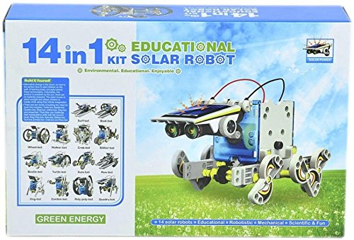 14-in-1 Solar Kit Educational Robotics Space Toys. Game IQ & EQ Toys for Kids For 12 and Up (Solar Engine compare prices)