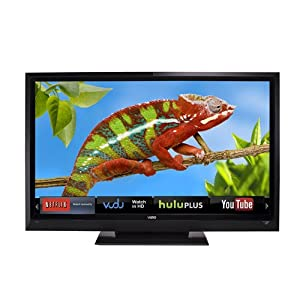VIZIO E552VLE 55-Inch 120Hz Class LCD HDTV with VIZIO Internet Apps (Black)