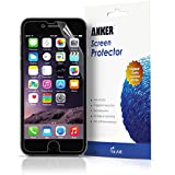 "Anker® 3-Pack Ultra Clear High Response HD Screen Protector for iPhone 6 (4.7 inch) ""XTREME Scratch Defender""[Lifetime Warranty]"