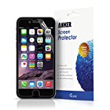 "Anker® [3-pack] Ultra Clear High Response HD Screen Protector for iPhone 6 (4.7 inch) ""XTREME Scratch Defender""[Lifetime Warranty]"