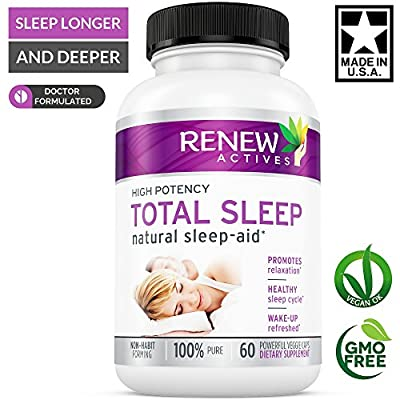 FLASH SALE! Natural Sleep Aid Supplement For Adults with Valerian & Melatonin! Non-Drowsy Formula. Beat Insomnia & Anxiety Naturally! Non-Habit Forming. Get a Longer & Deeper Sleep You Deserve!