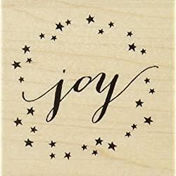 Hero Arts Joy by Lia Wood Block Stamp