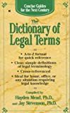Concise Guides: The Dictionary of Legal Terms (Concise Guides for the Next Century)