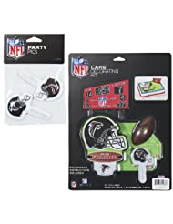 Click to buy NFL Lay-on Cake/Cupcake Decorationsfrom Amazon!
